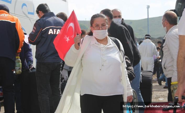 İNGİLTERE'DEN GETİRİLEN 336 VATANDAŞ, KARANTİNADAN TAHLİYE EDİLDİ