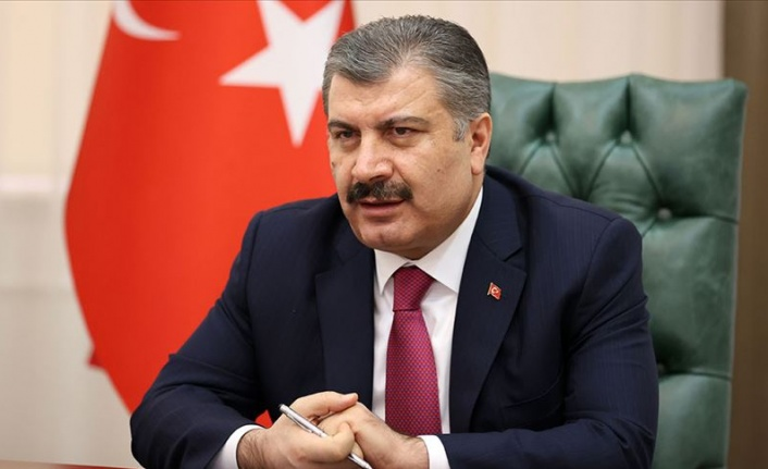 "BAKAN KOCA: ""100 BİN AKTİF HASTAMIZ YOK"""