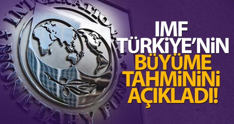 IMF: 'TÜRKİYE EKONOMİSİ 2021'DE YÜZDE 9 BÜYÜYECEK'