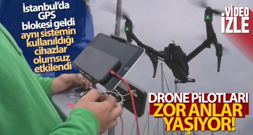İSTANBUL'DA GPS BLOKESİ GELDİ, AYNI SİSTEMİN KULLANILDIĞI CİHAZLAR OLUMSUZ ETKİLENDİ