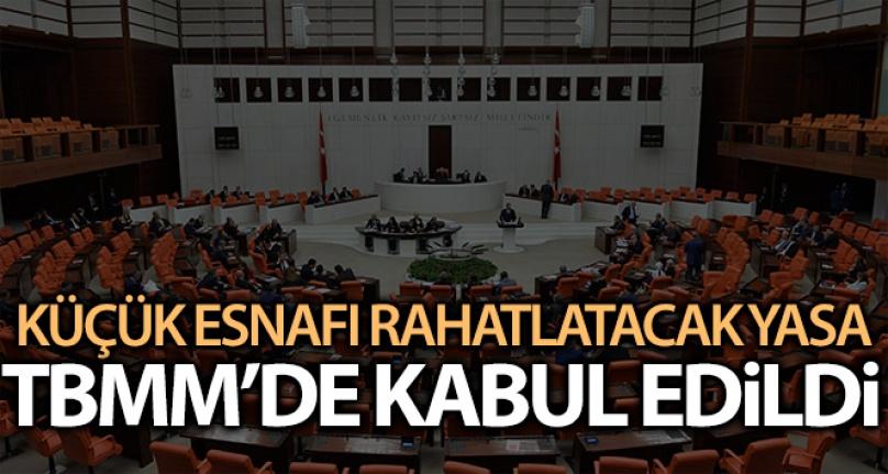 VERGİ USUL KANUNU DEĞİŞİKLİK TEKLİFİ TBMM'DE KABUL EDİLDİ