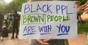 WASHİNGTON'DA FLOYD PROTESTOSU
