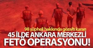 FETÖ'NÜN JANDARMA 'MAHREM HİZMETLER' YAPILANMASINA 98 GÖZALTI KARARI